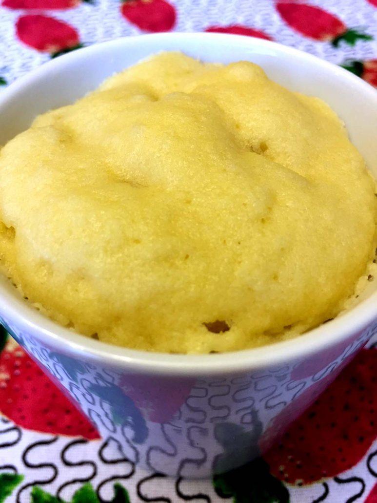 Coconut Flour Mug Cake Paleo