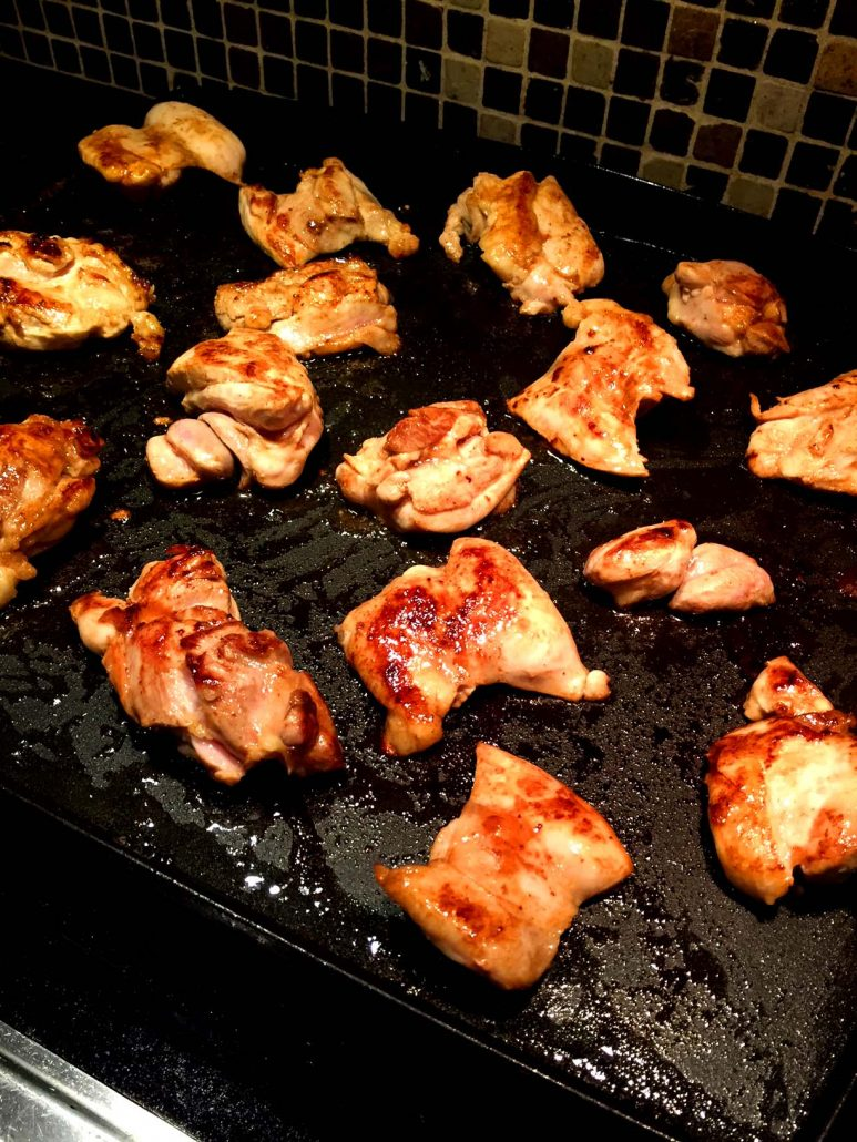 Boneless Skinless Fried Chicken Thighs