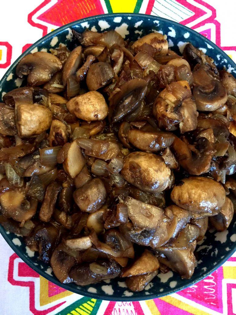 Sauteed Mushrooms And Onions Recipe
