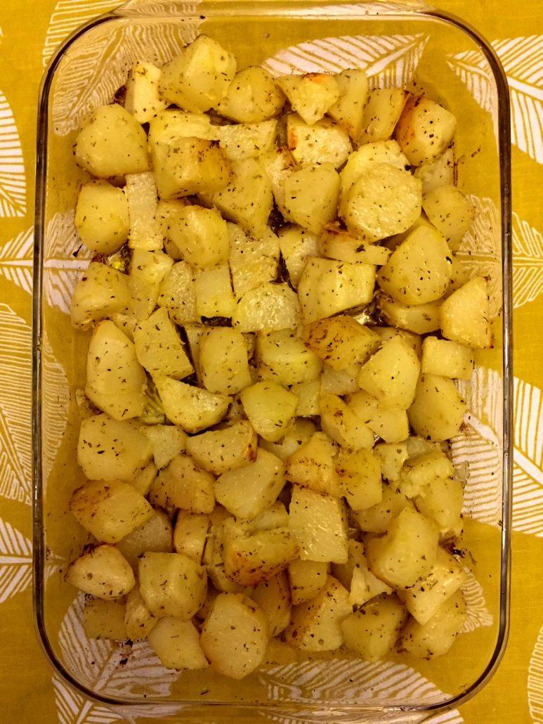 Easy Homemade Greek Potatoes Recipe