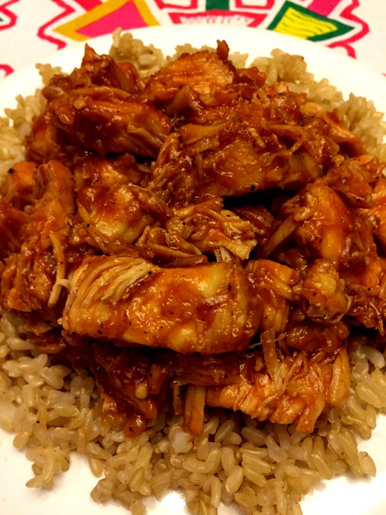 BBQ Chicken And Brown Rice