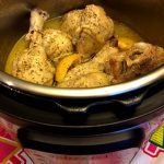 Instant Pot Frozen Chicken Legs With Lemon And Garlic