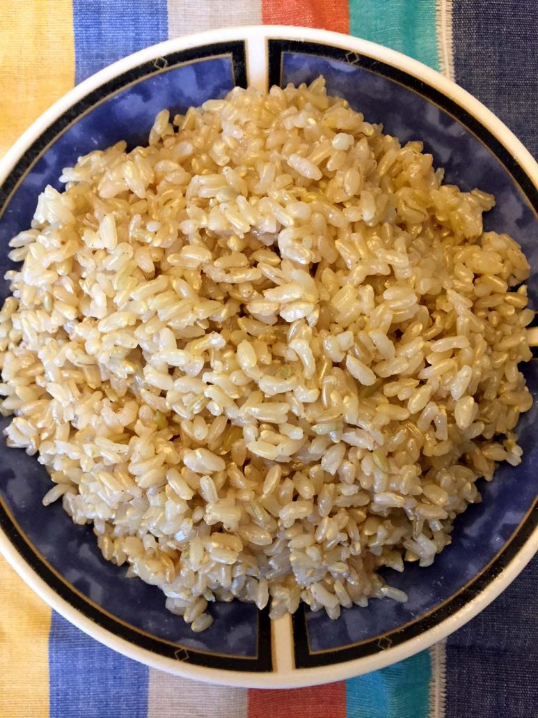 Perfect Brown Rice In The Instant Pot