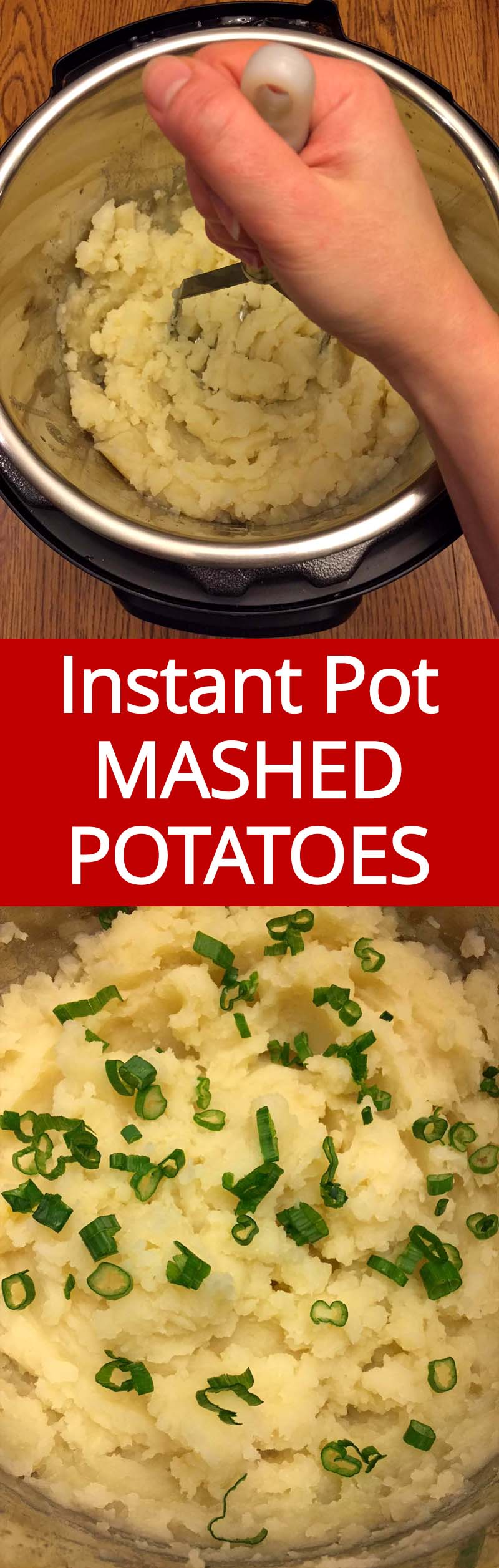 I love Instant Pot mashed potatoes! This is the easiest way of making mashed potatoes ever! They turn out perfect!