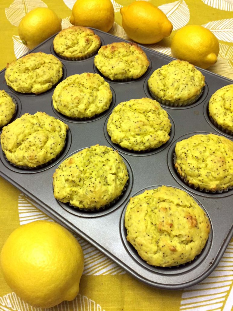 Easy Lemony Muffins With Lemon Flavor