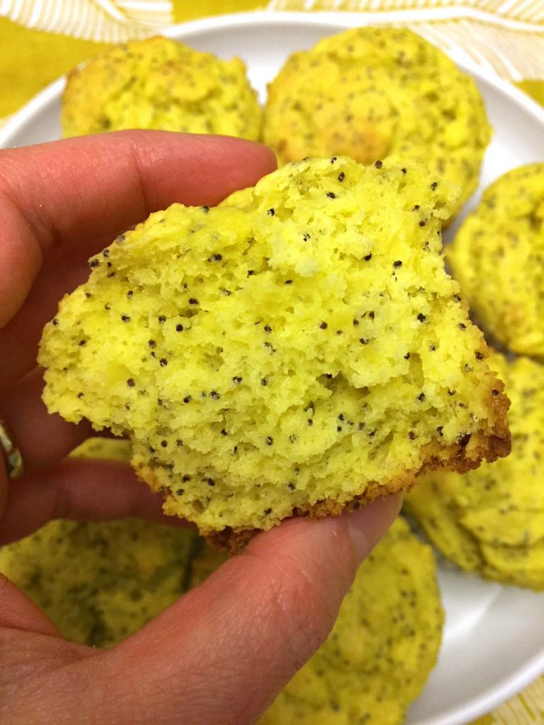 Yellow Poppyseed Muffin