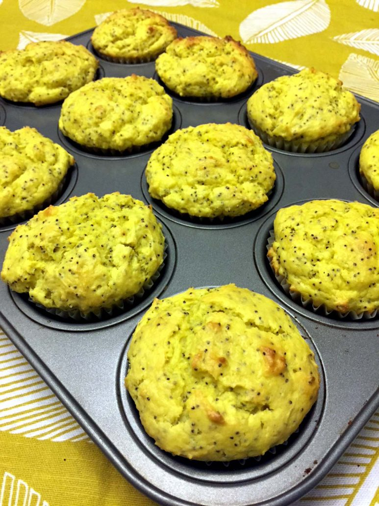 Best Ever Lemon Poppyseed Muffins Easy One Bowl Recipe