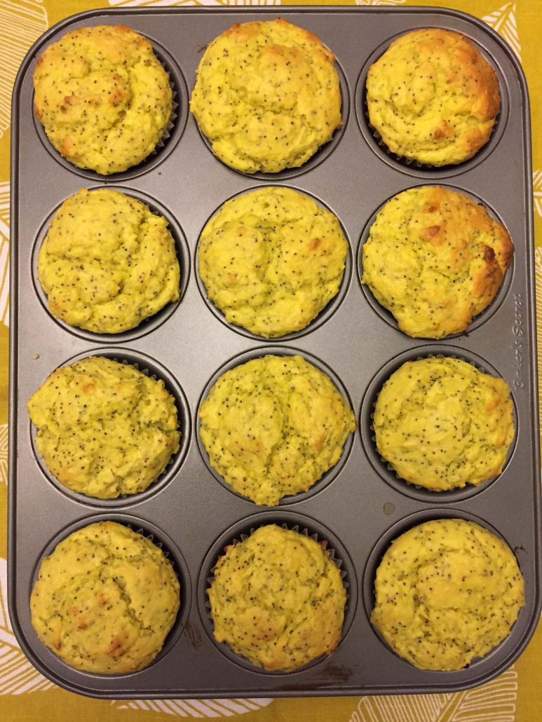 Homemade Lemon Poppy Seed Muffins