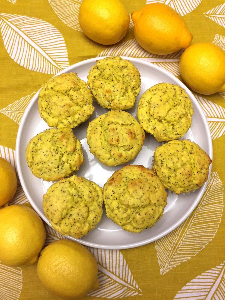 Best Lemon Poppyseed Muffins