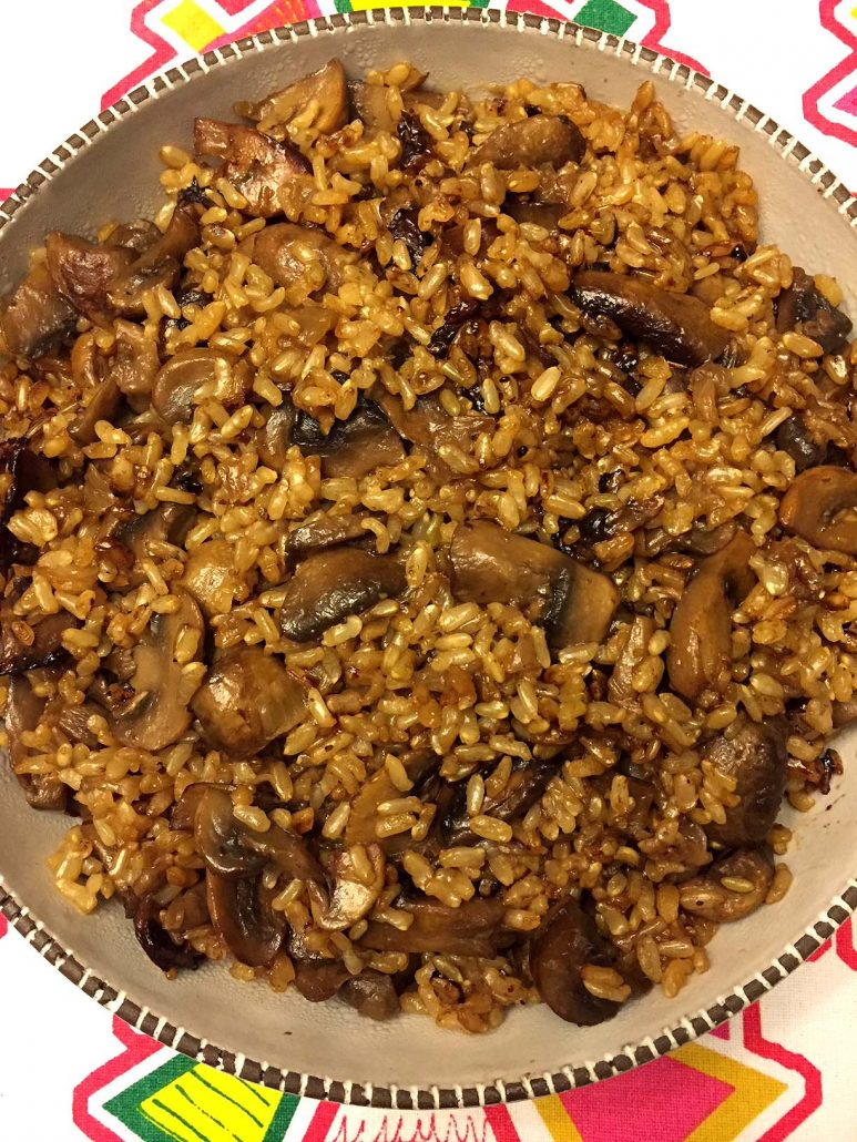 Best Ever Mushroom Rice Recipe