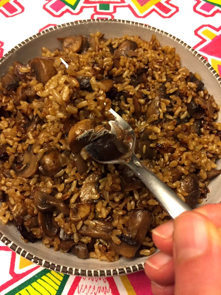 How To Make Mushroom Rice