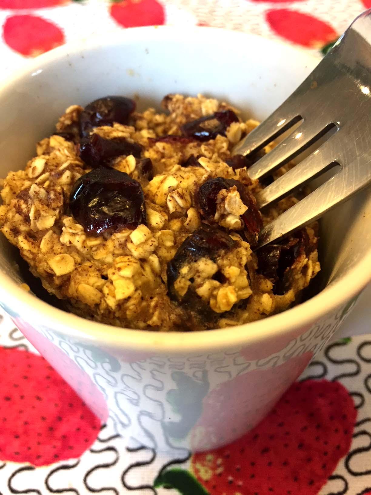 Gluten Free Oatmeal Raisin Microwave Mug Cake Recipe Melanie Cooks