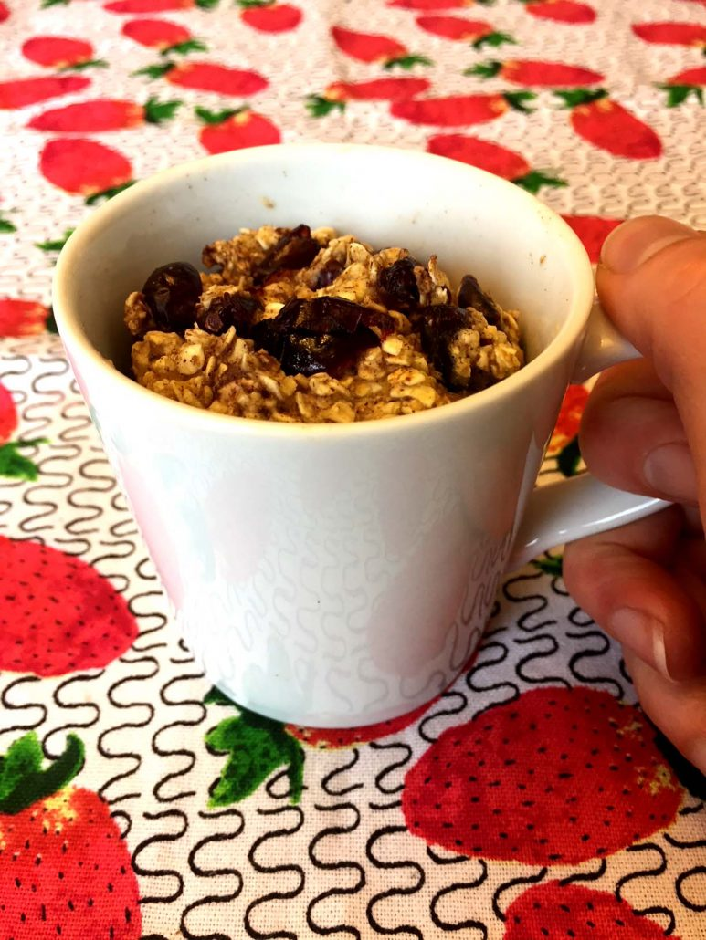 Baked Oatmeal In A Mug