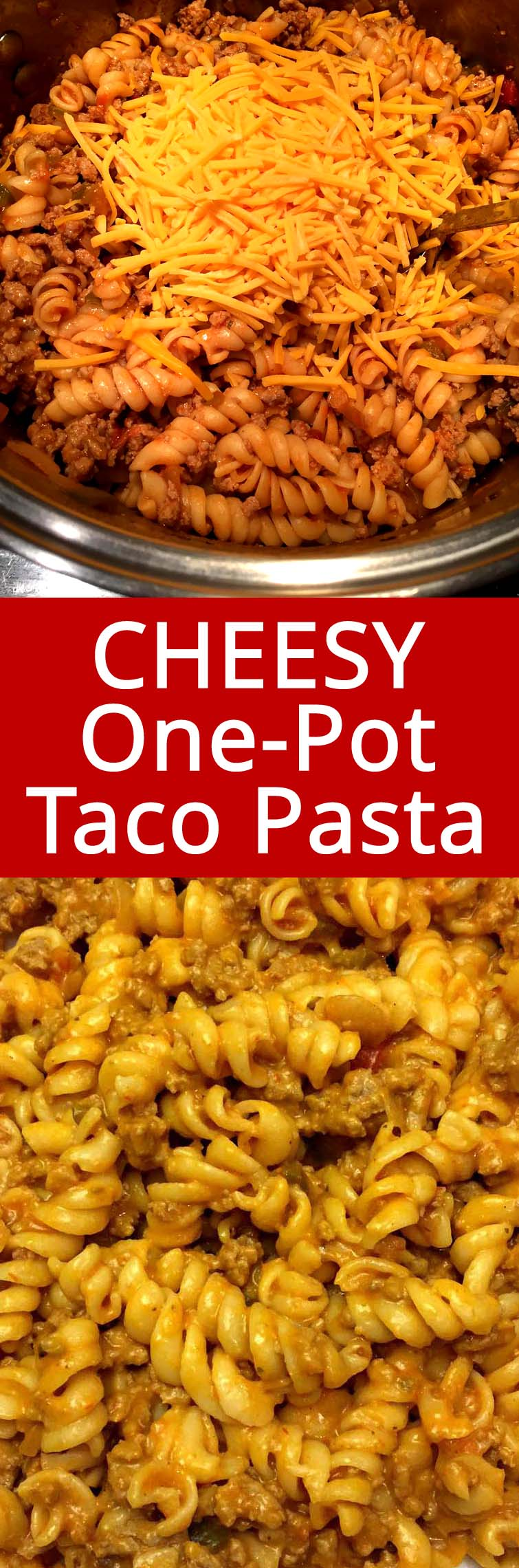 This One Pot Cheesy Taco Pasta Is So Easy To Make And Tastes Amazing
