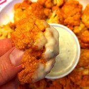 Buffalo Cauliflower Appetizer
