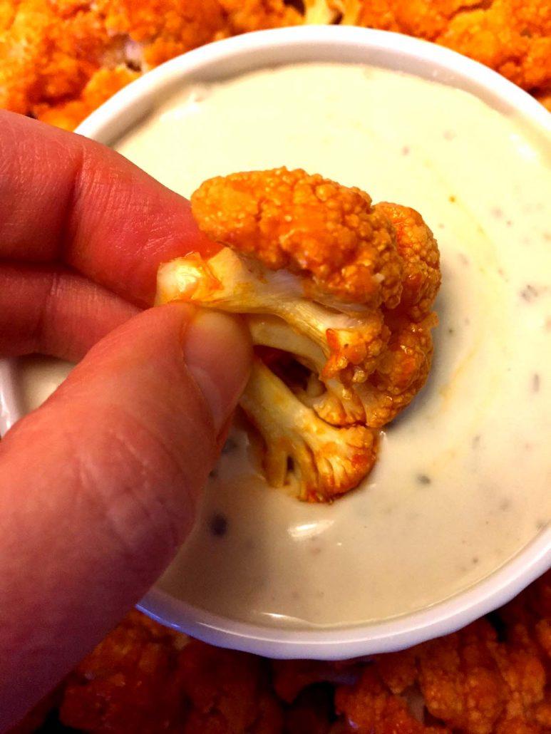 Baked Buffalo Cauliflower