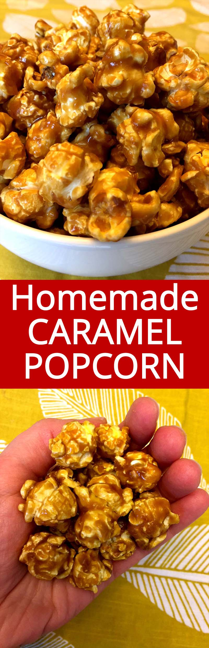 This homemade caramel corn is amazing! This is the only caramel corn recipe you'll ever need!