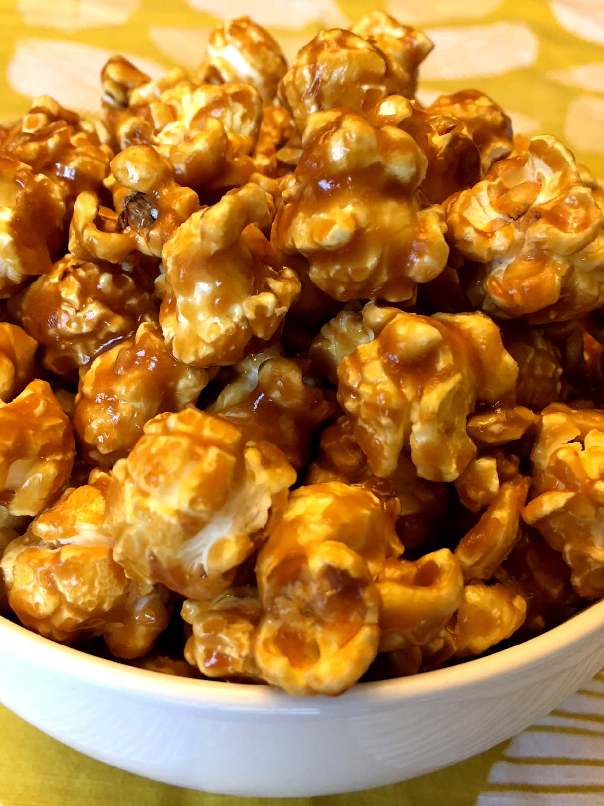 Homemade Caramel Popcorn Recipe Melanie Cooks