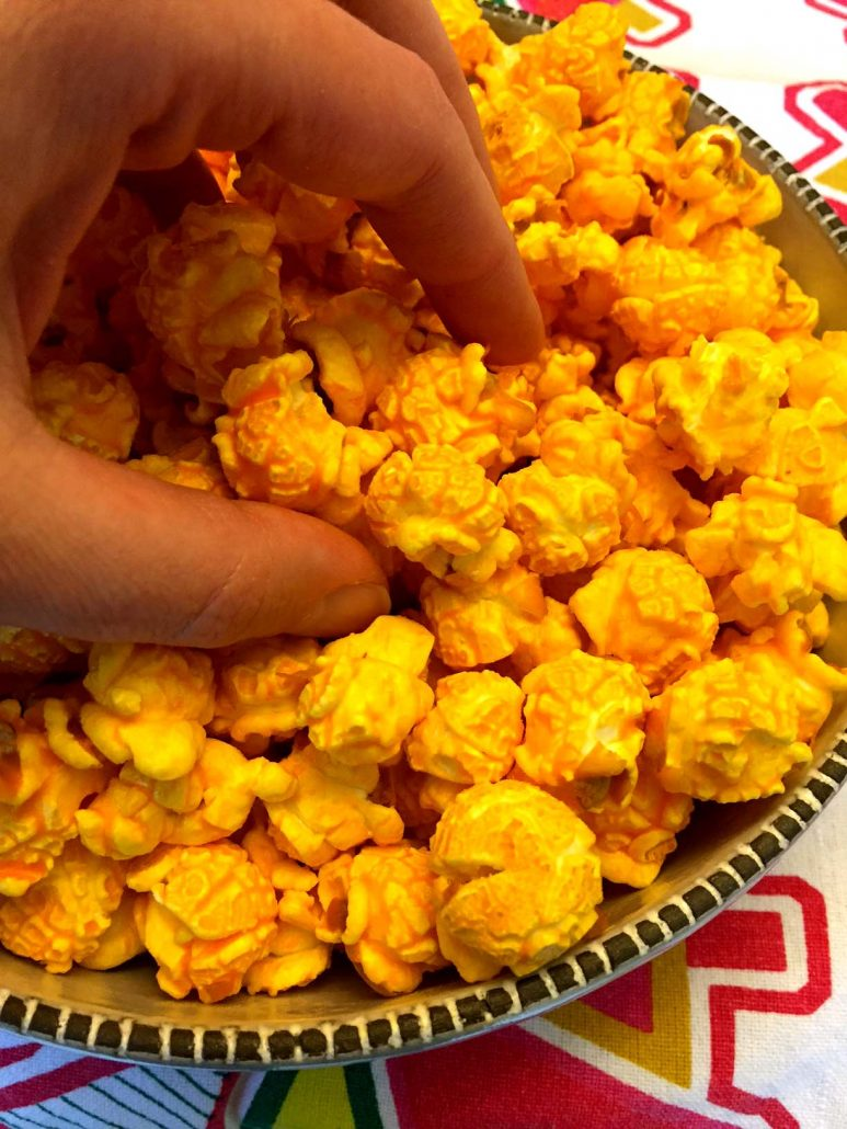 Easy Cheese Popcorn Recipe