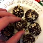 Healthy Hazelnut Chocolate Truffles Energy Balls