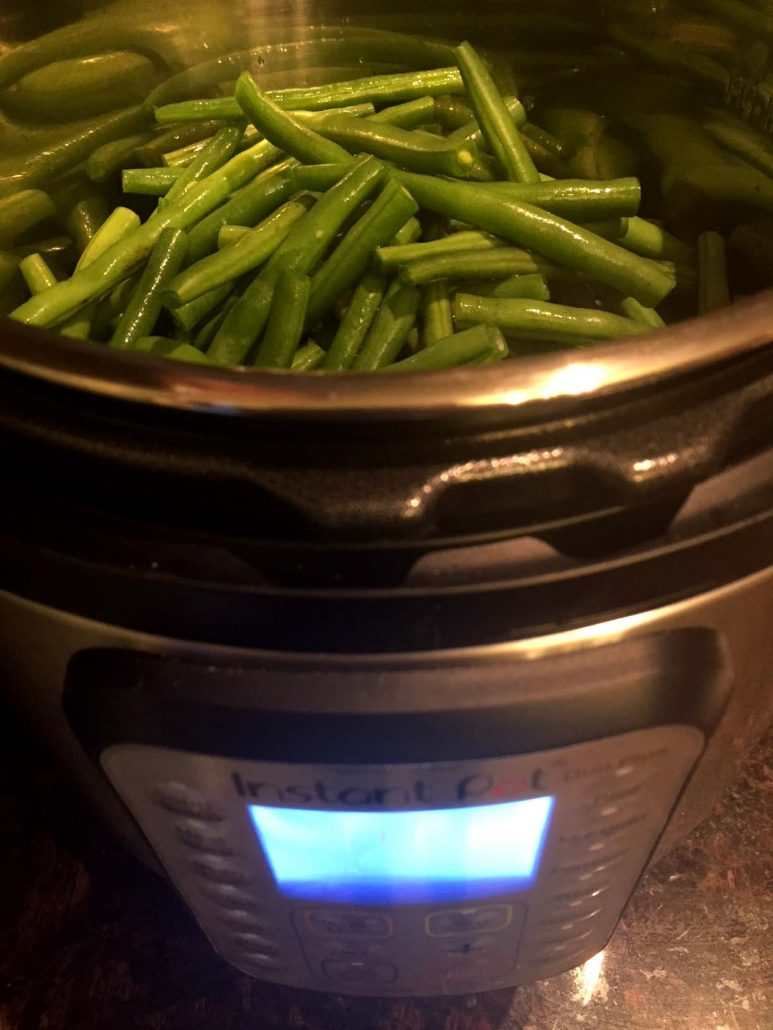 Easy Instant Pot Green Beans