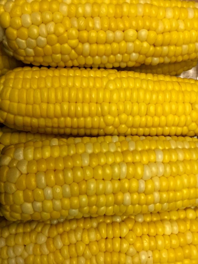 Corn On The Cob Cooked In The Instant Pot