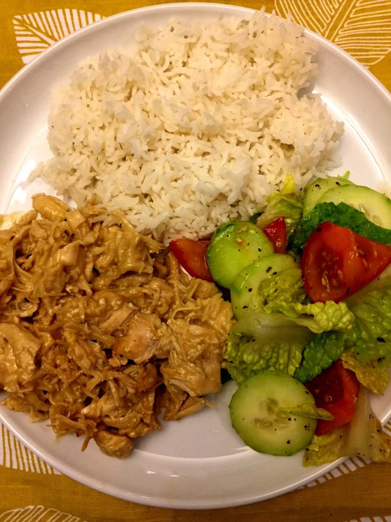 Instant Pot Honey Mustard Chicken And Rice
