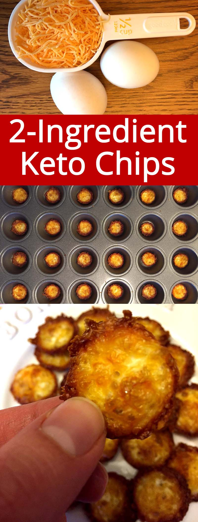 These are the best keto chips ever!  I love cheddar cheese! They are so crunchy, amazing!