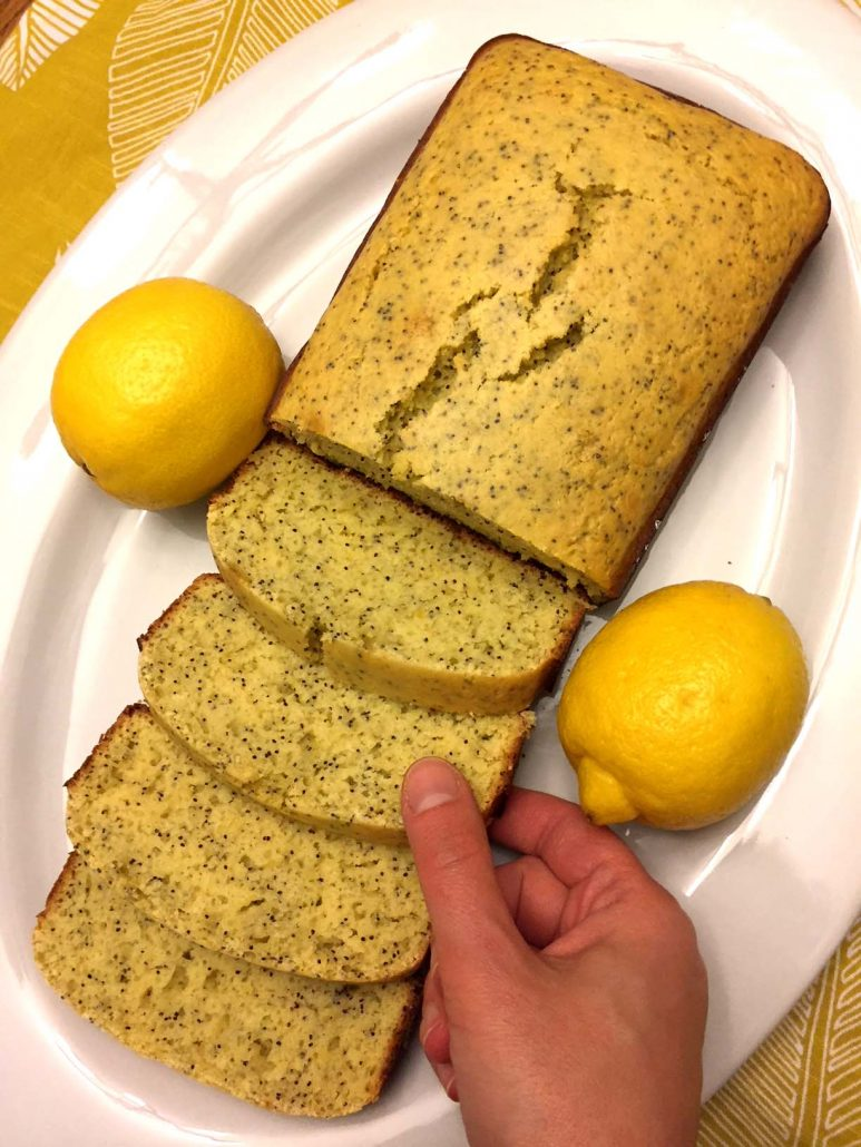 Lemon Poppy Seed Sweet Bread