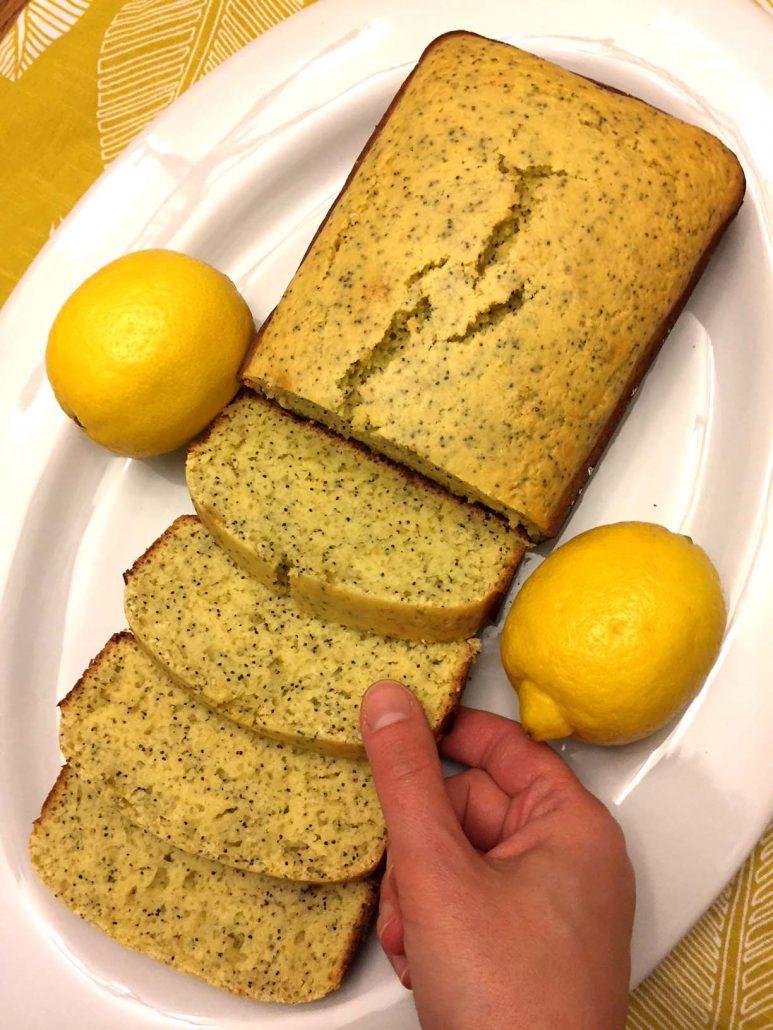 Lemon Poppy Seed Sweet Bread