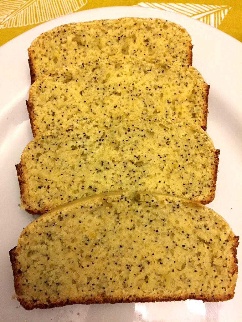 Lemon Poppyseed Quick Bread
