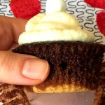 S'Mores Chocolate Marshmallow Cupcakes With Graham Cracker Crust