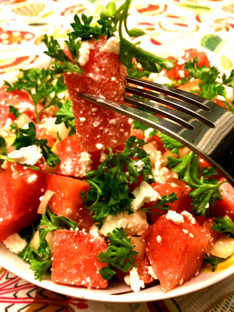 Easy Watermelon Feta Salad
