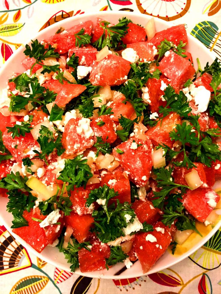 How To Make Watermelon Feta Salad