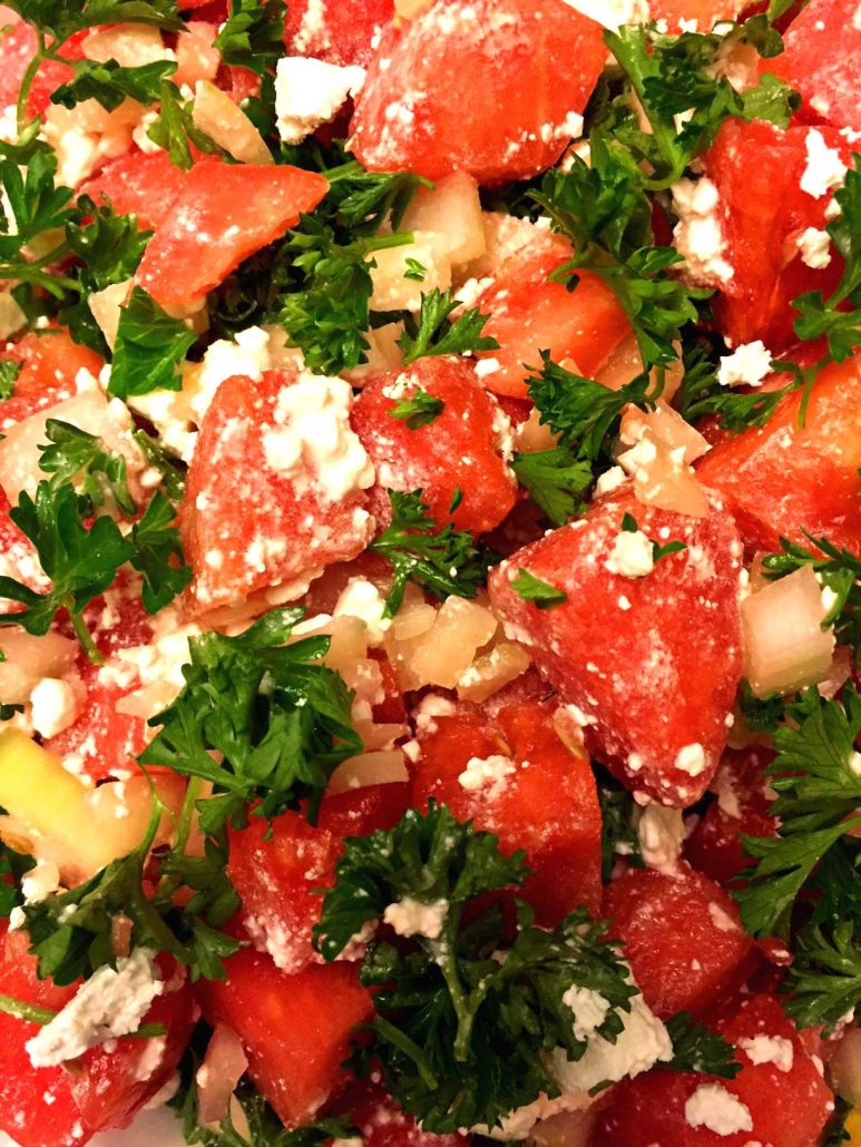 Feta Watermelon Salad Recipe