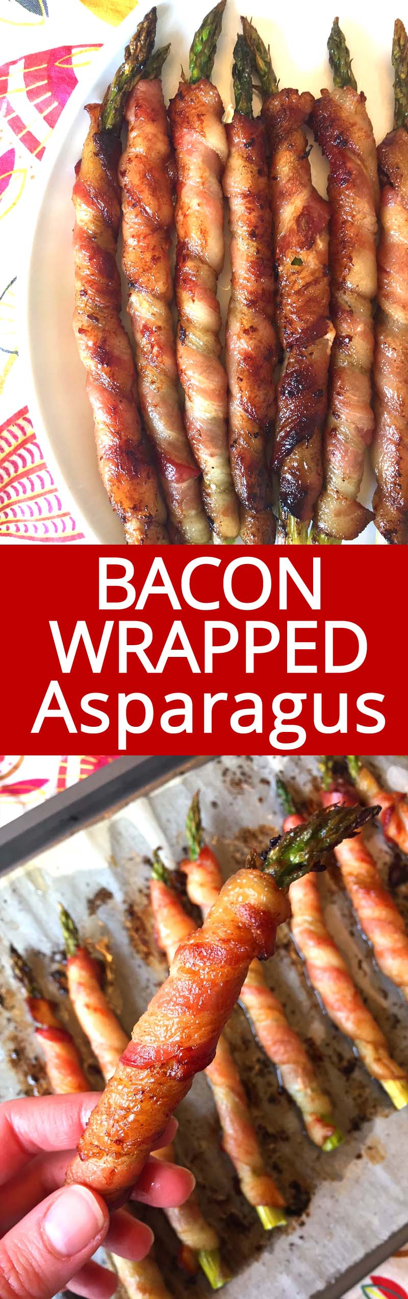 This bacon wrapped asparagus is amazing! This is my favorite lowcarb keto appetizer!  So yummy and crispy! My mouth is watering!