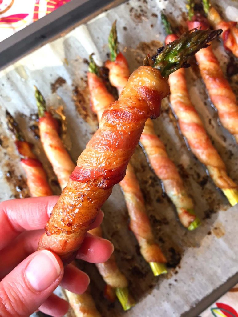 Baked Bacon Wrapped Asparagus