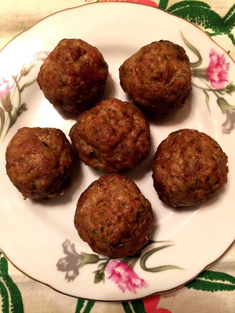 Easy Baked Italian Meatballs Recipe Melanie Cooks