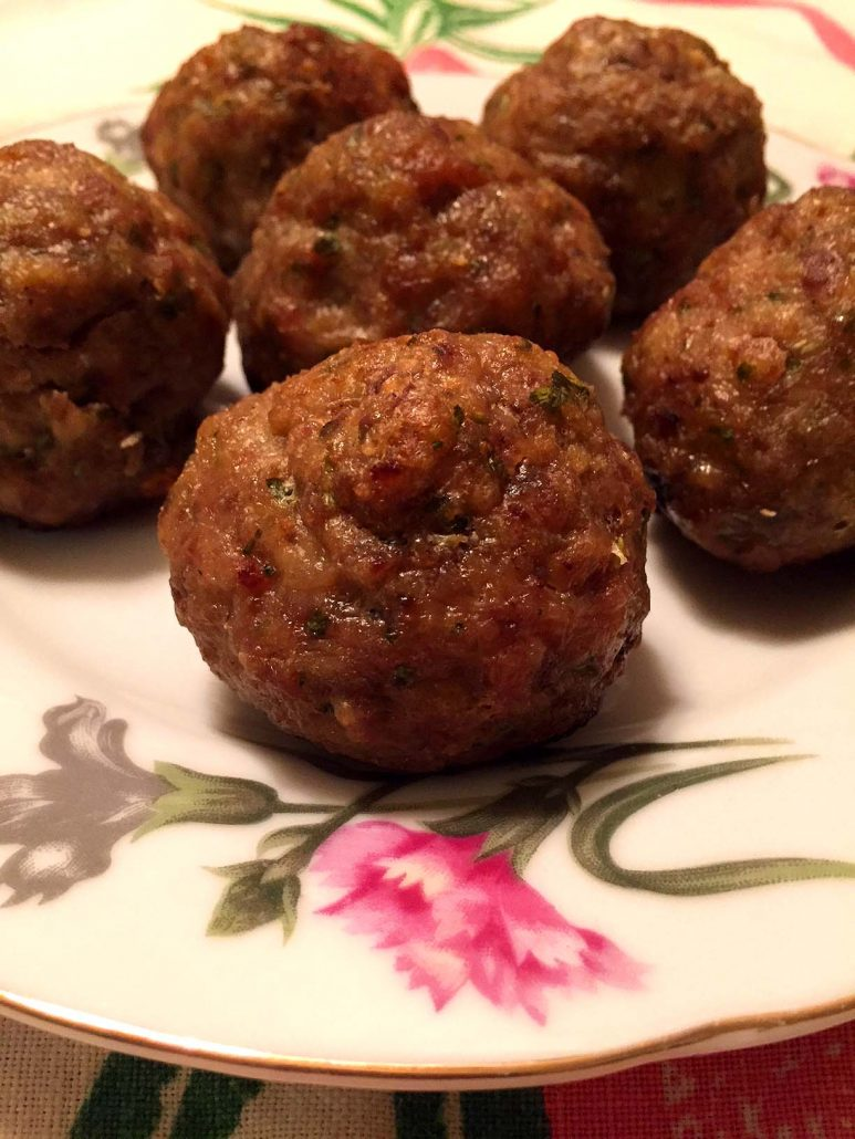 Meatballs Baked In The Oven