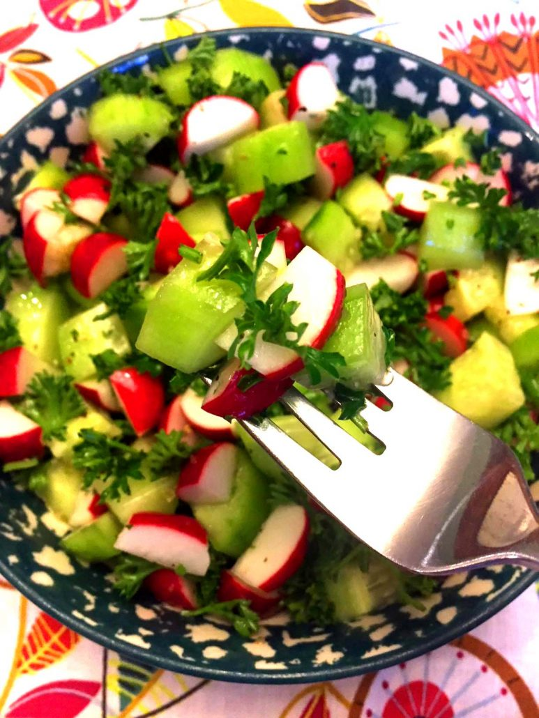 Cucumber Radish Salad Recipe