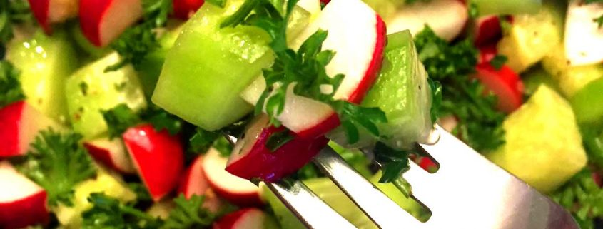 Cucumber Radish Salad Recipe