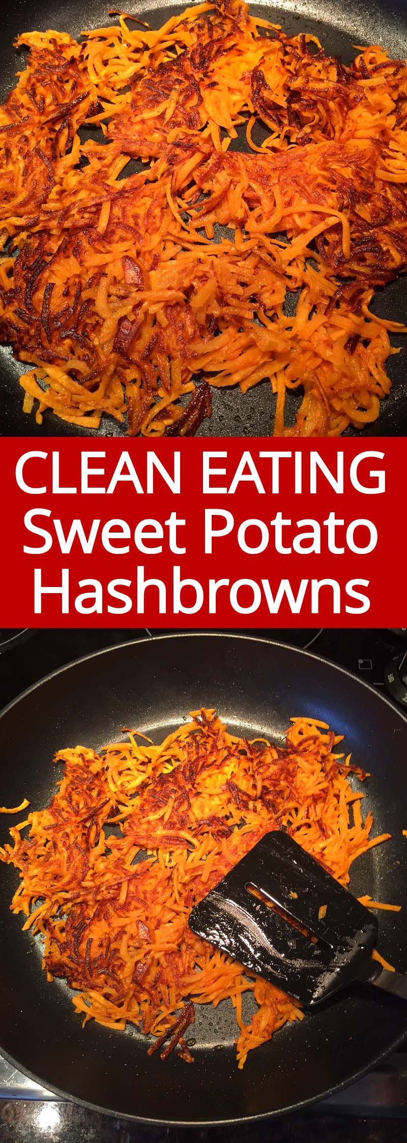 These homemade sweet potato hashbrowns are amazing! So yummy and much healthier than regular hashbrowns!