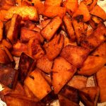 Pan Fried Sweet Potatoes