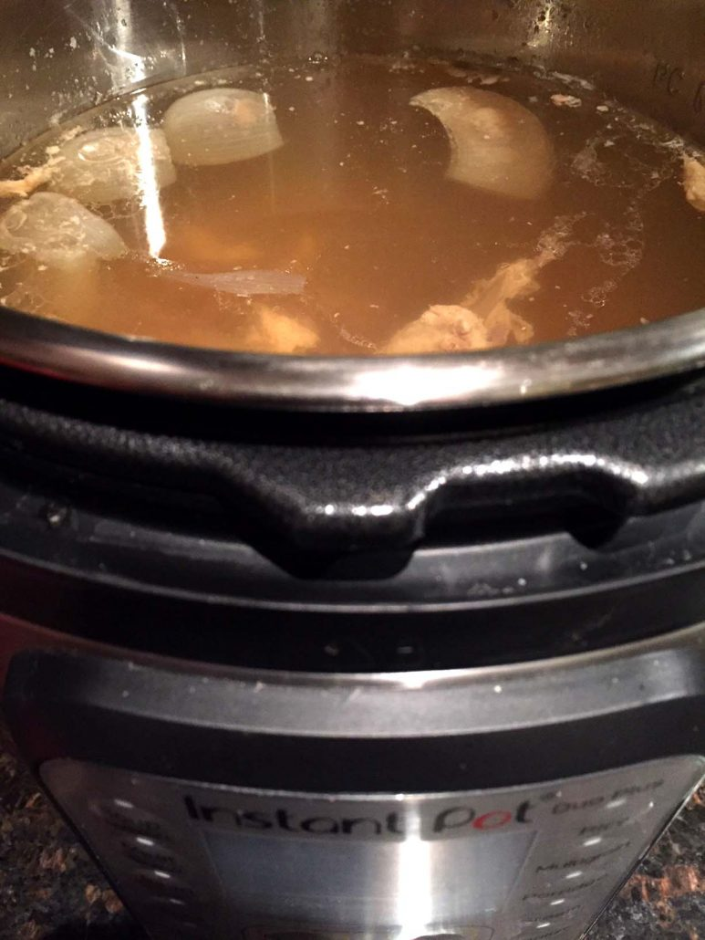 Instant Pot Bone Broth Recipe