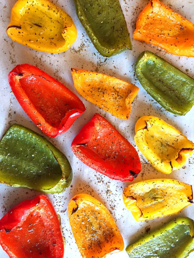 How To Make Oven Roasted Peppers