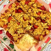 Strawberry Banana Oatmeal Squares Recipe