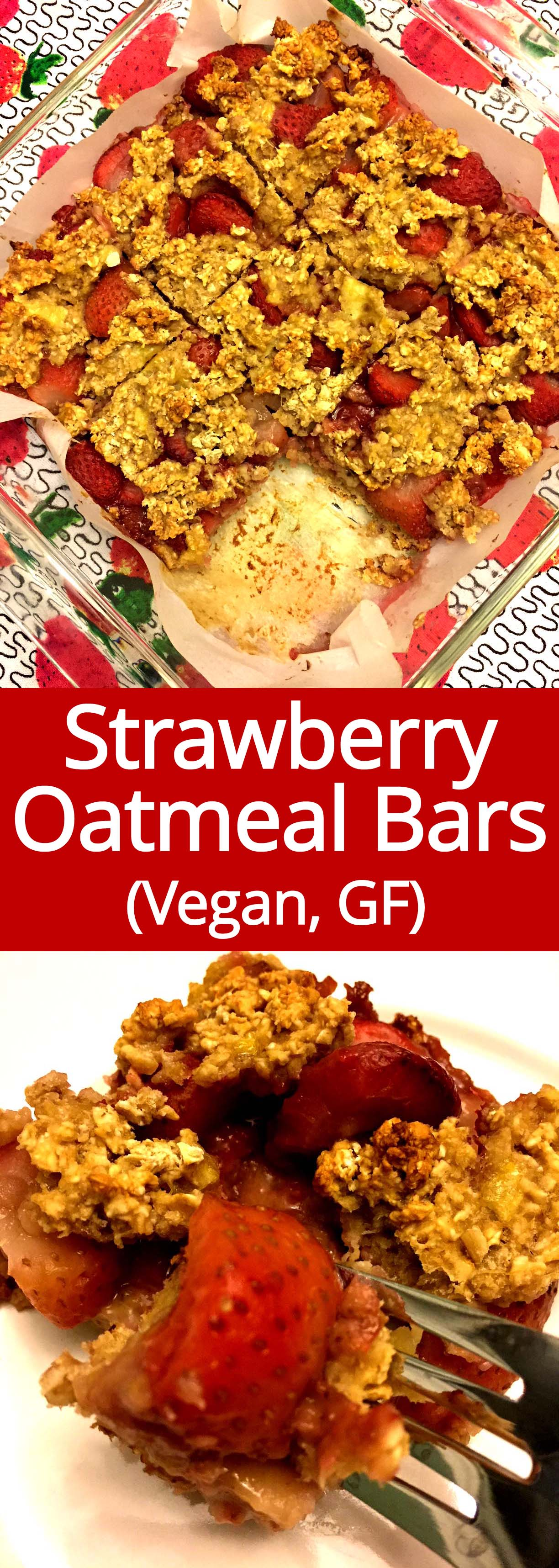 These strawberry banana oatmeal breakfast bars are amazing! So healthy and delicious! This is my perfect healthy breakfast and snack!