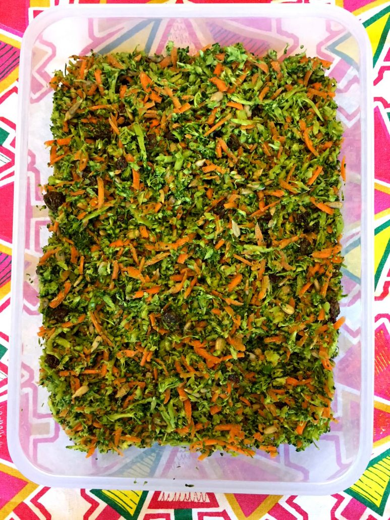 Broccoli Slaw Detox Salad Meal Prep