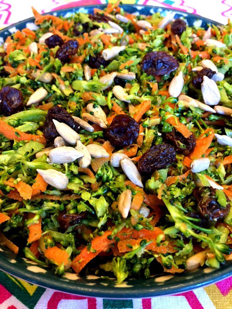 Broccoli Slaw Detox Salad