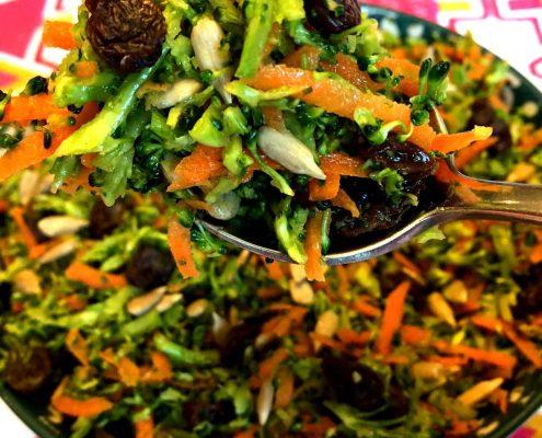 Broccoli Detox Slaw